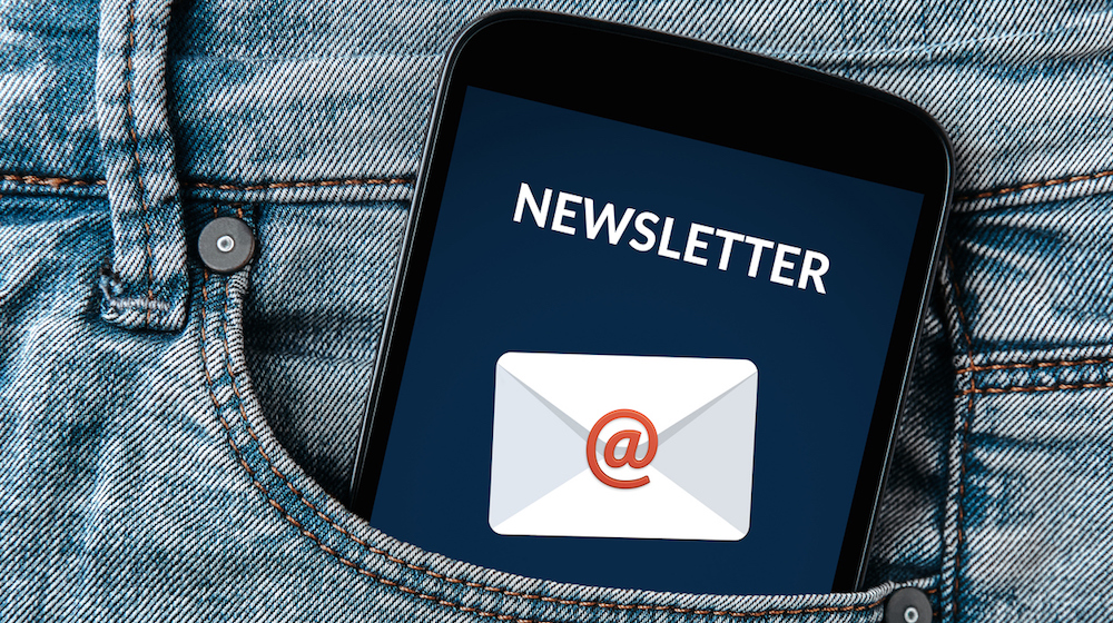 Client newsletters